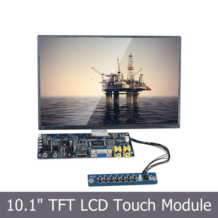 10.1 inch TFT LCD SKD Module with Touchscreen