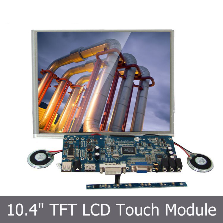 10.4 inch TFT LCD SKD Module with Touchscreen