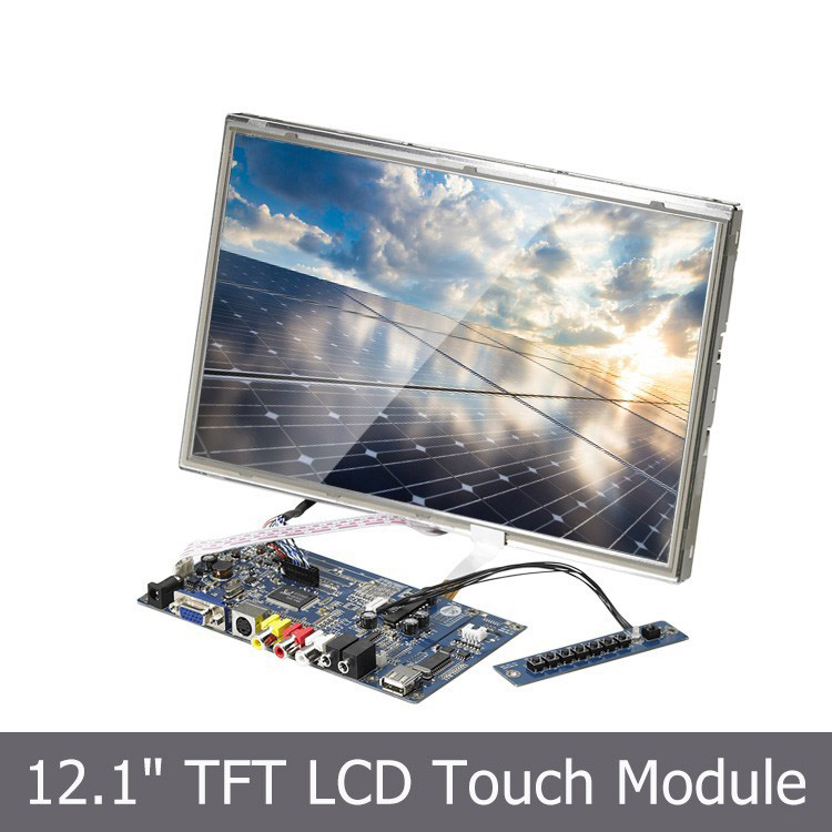12.1 inch TFT LCD SKD Module with touch screen