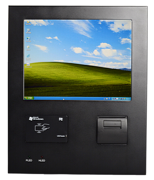 12 Inch Industrial Panel PC with Thermal Printer, Bar Code Scanning