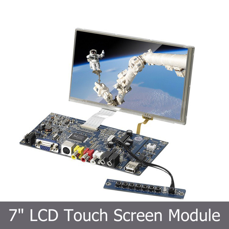 7 inch TFT LCD SKD with Touchscreen