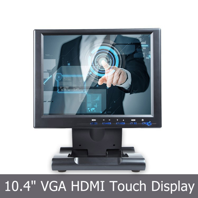 10.4 inch TFT LCD Monitor with Touchscreen