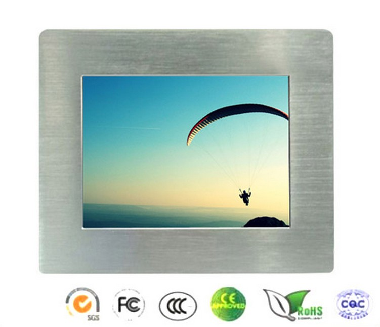 12.1 Inch Industrial Fanless Touch Panel PC