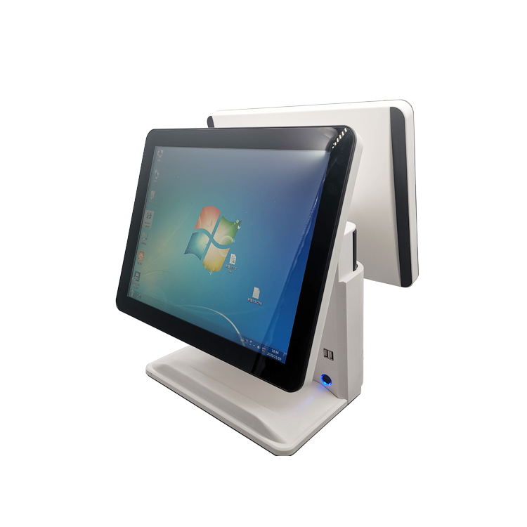 15 Inch Dual screen POS System with Capacitive Touch Screen
